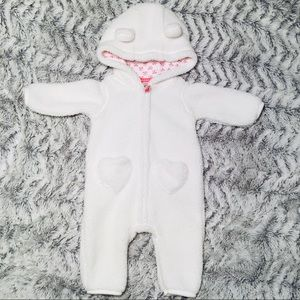 CARTERS | 3M | Open toe onsie